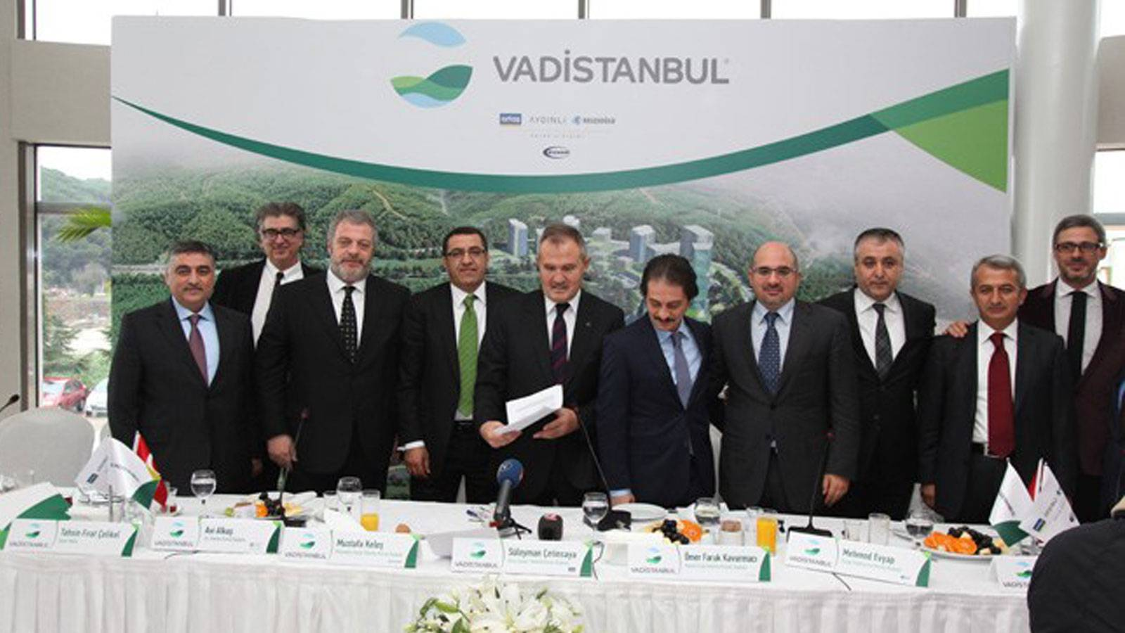 The lancement of Valley Istanbul  Project has been done to press / 07 December 2012
