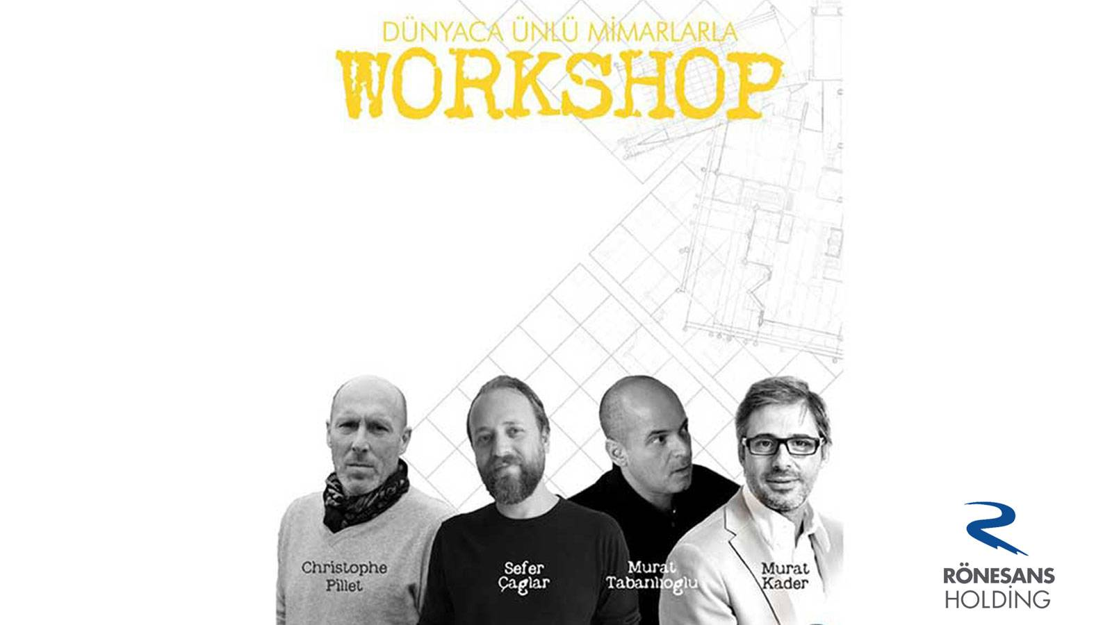 20.02.2016 Murat Kader participated a workshop with architecture students