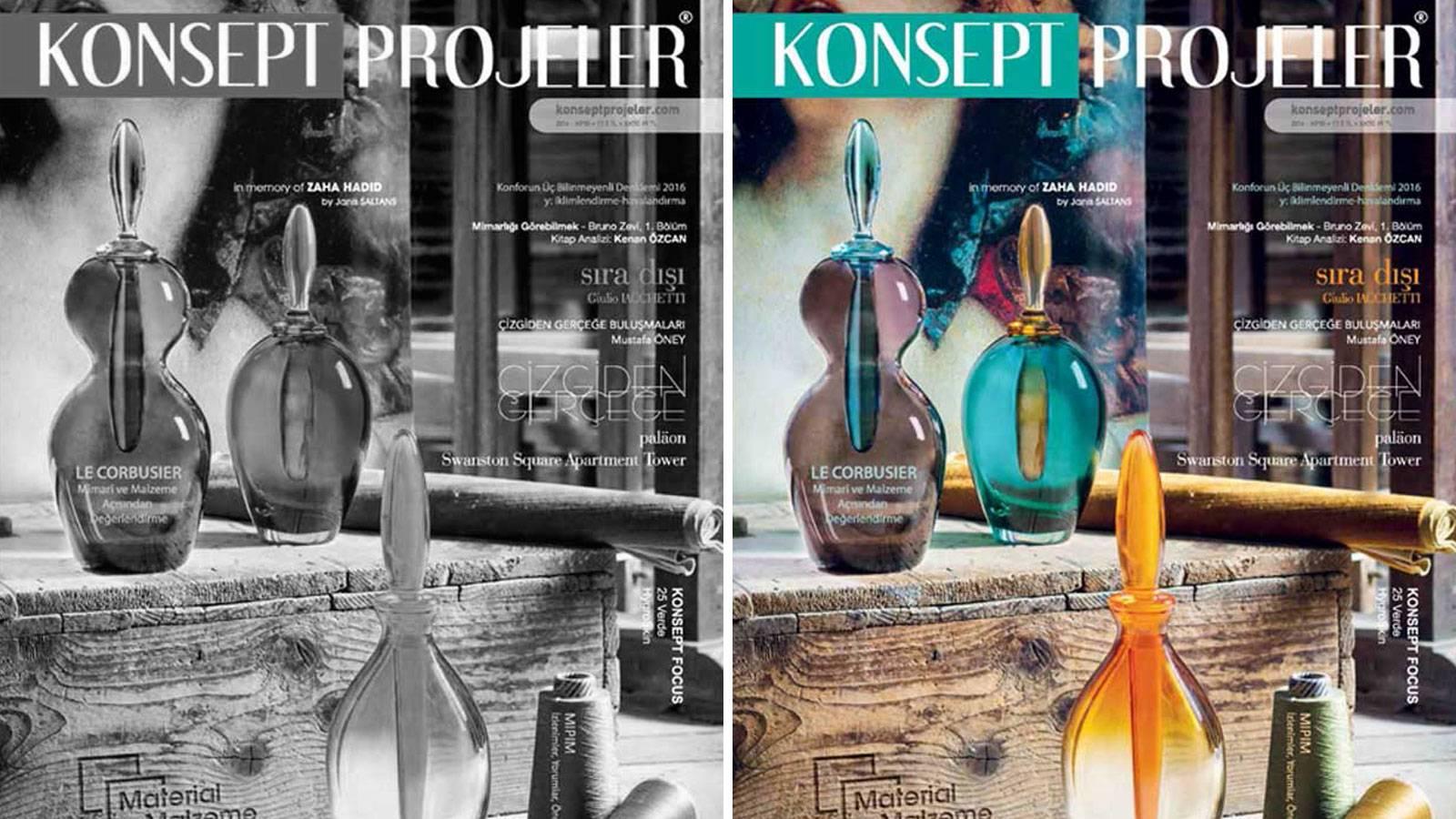 01.06.2016 50th edition of Konsept Projeler publication