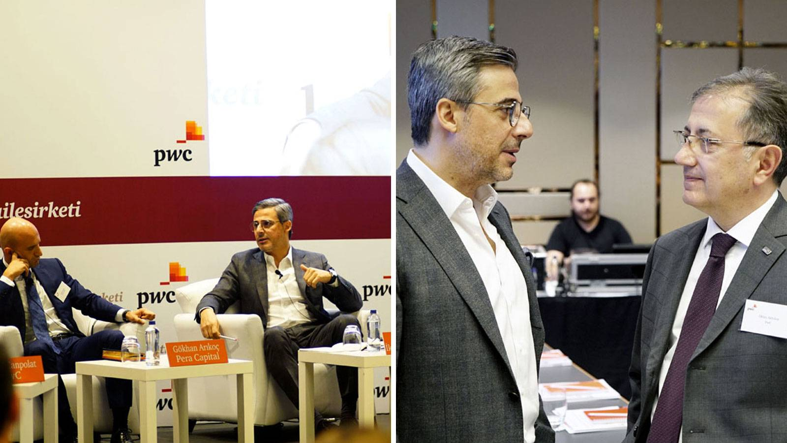 16.03.2017 Murat Kader attended to PwC Family-Owned Enterprise Conference.
