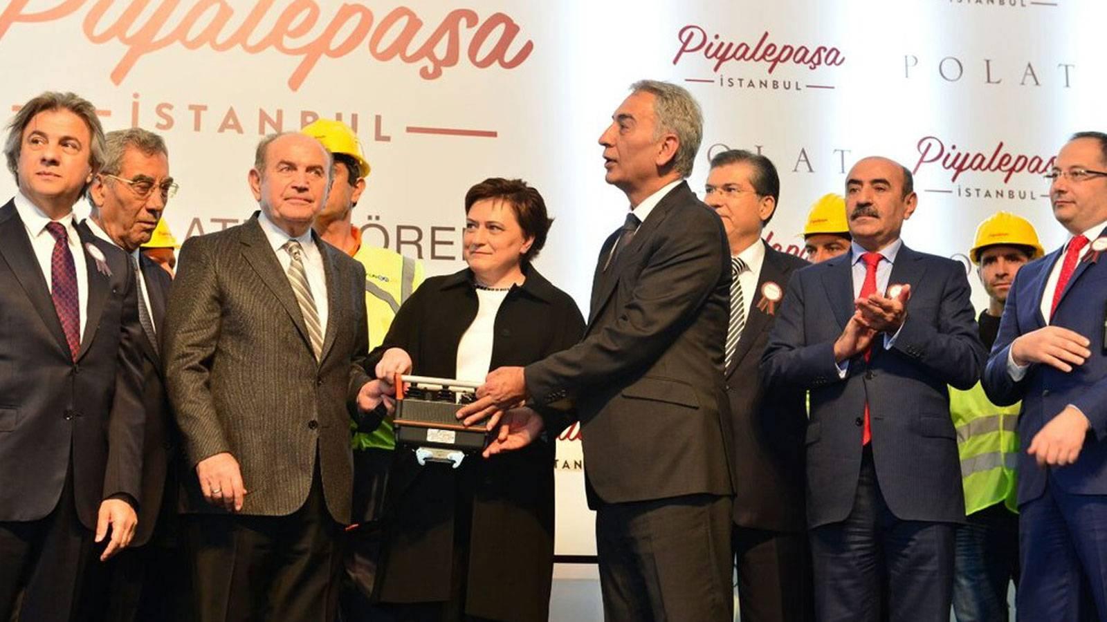 06.05.2016 Ground-breaking Ceremony for Piyalepaşa İstanbul