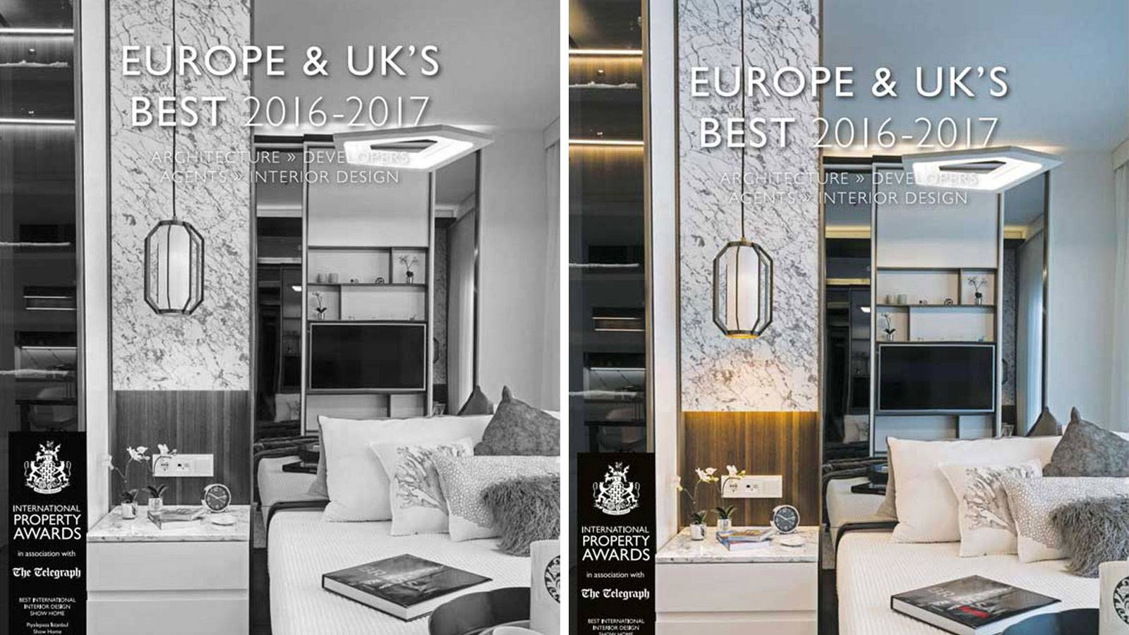 01.02.2017 Europe & UK's Best Magazine hosted us on front page.