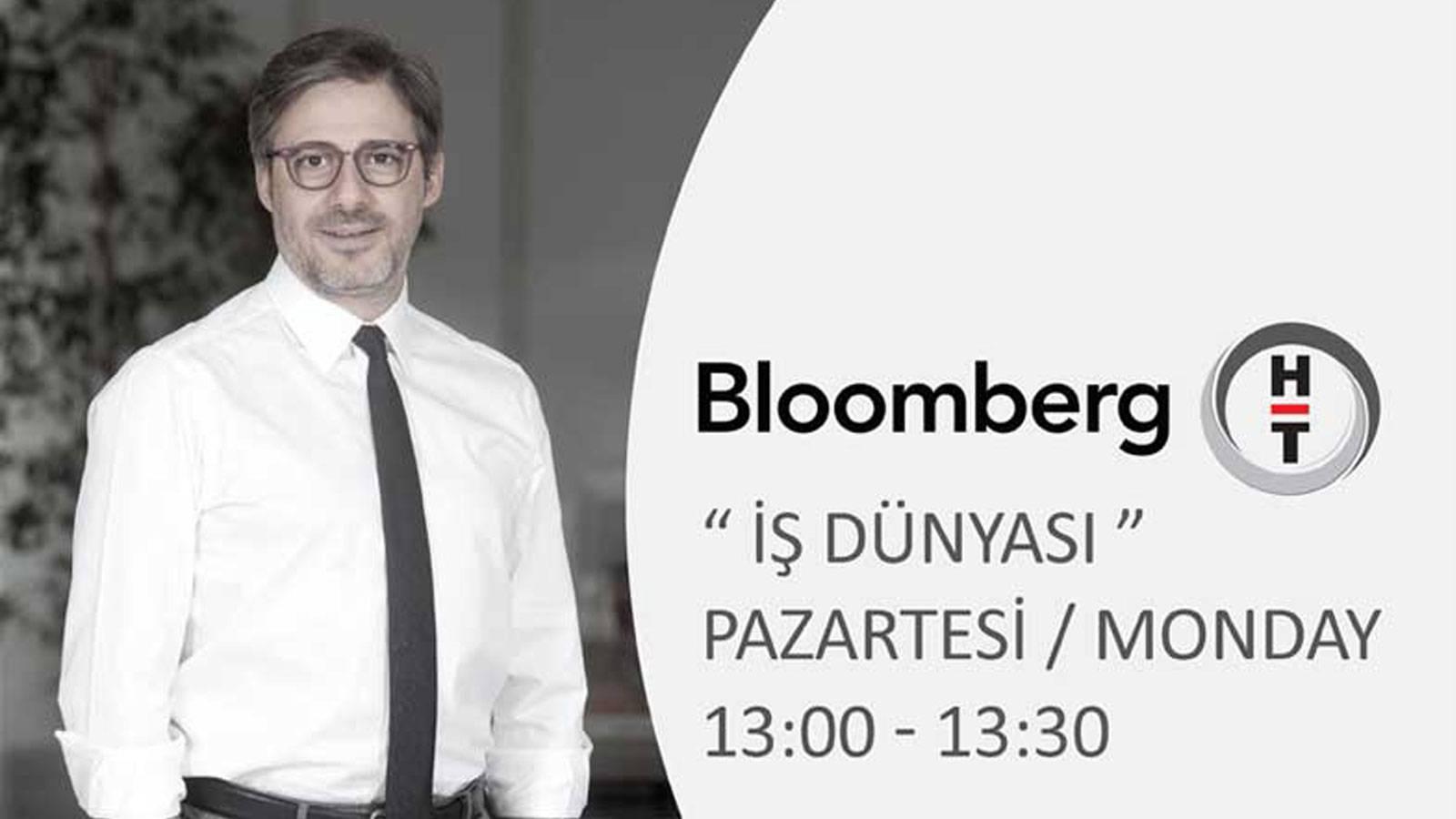 """10.10.2016 Murat Kader appeared live on Bloomberg HT """"İş Dünyası"""""""