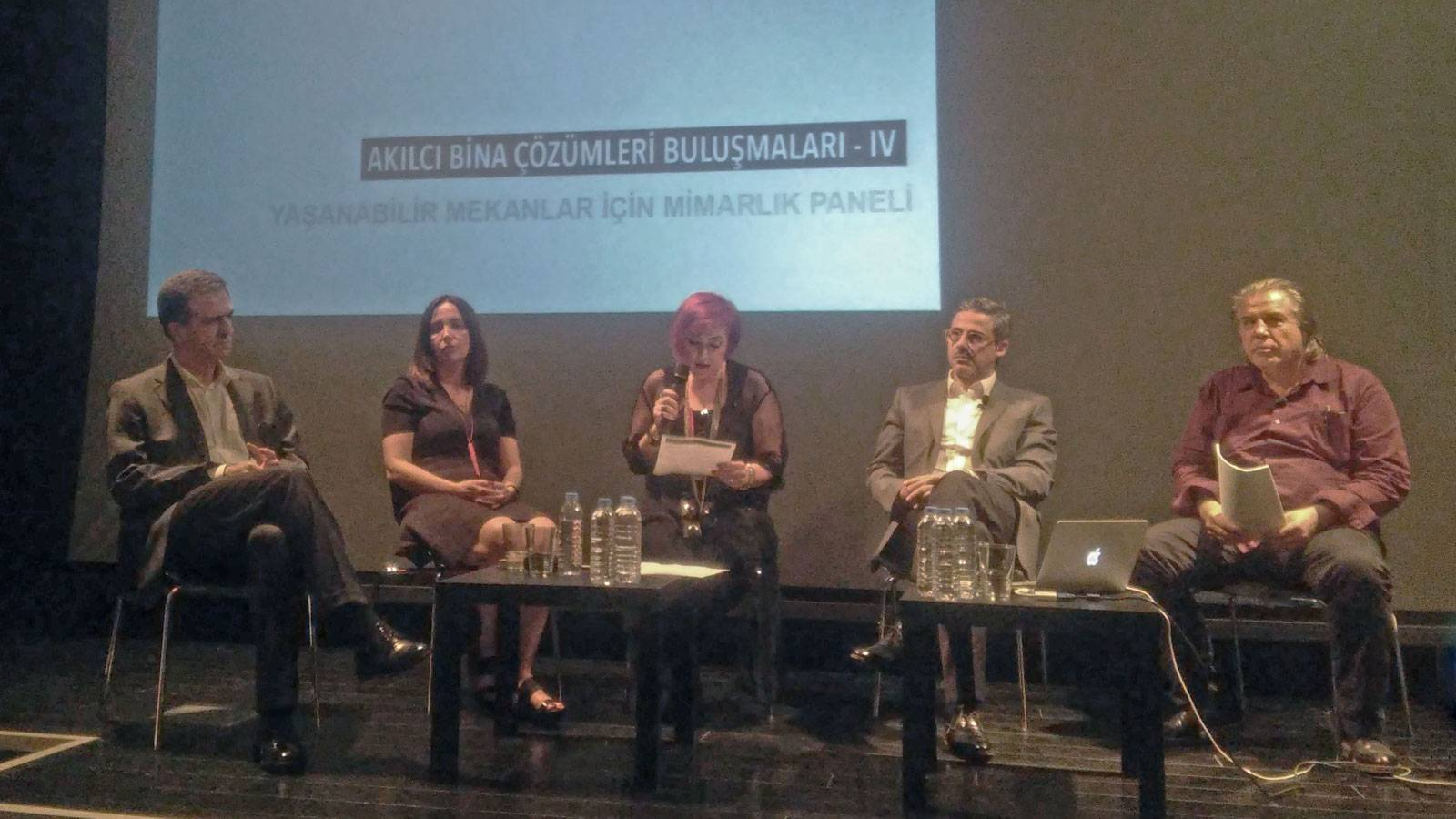 """18.05.2016 """"Architecture For Livable Places Panel"""" took place in at İstanbul Salt Galata"""
