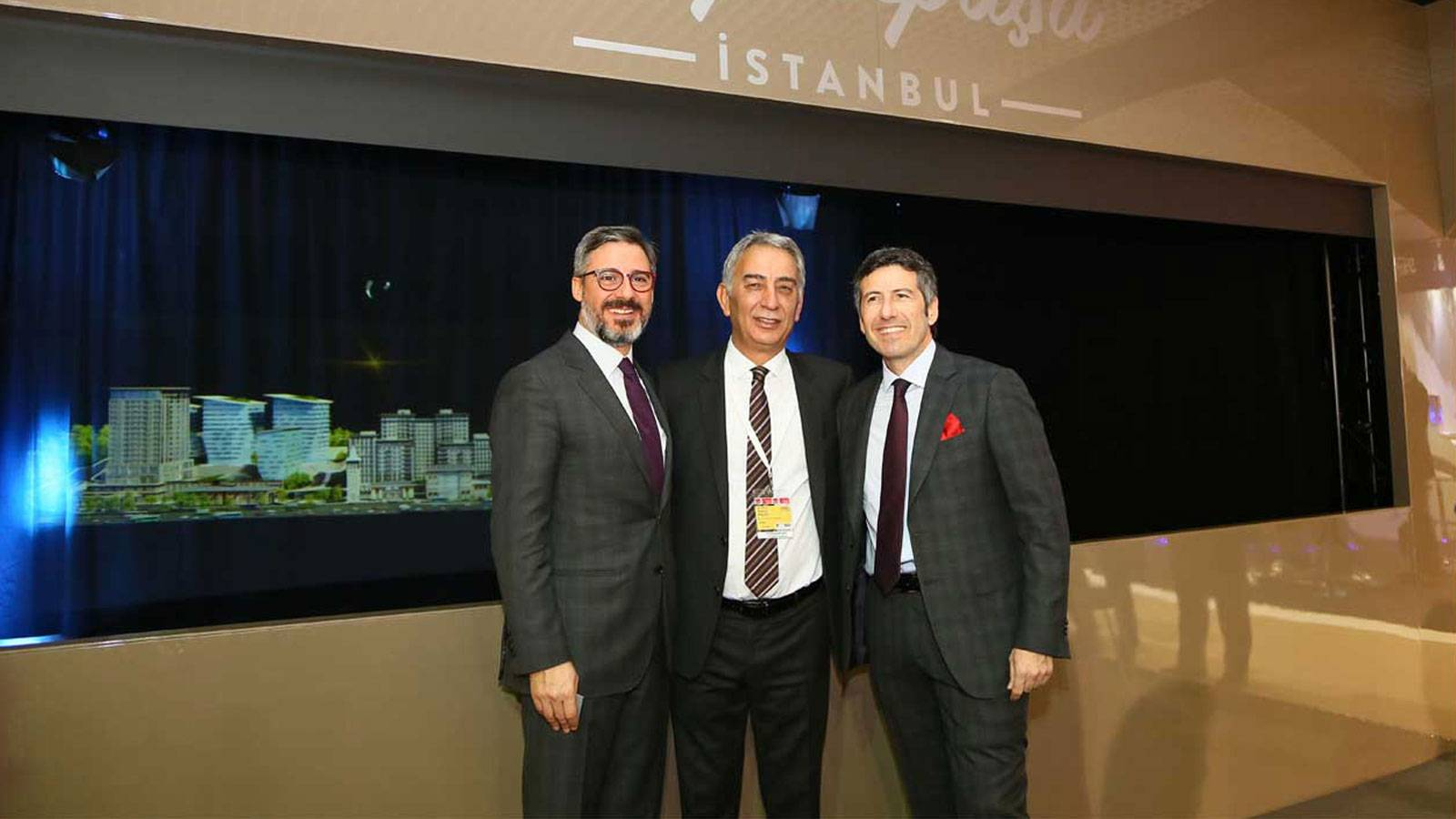 Official Launch of Piyalepasa Istanbul Project had been realized at Mipim in Cannes