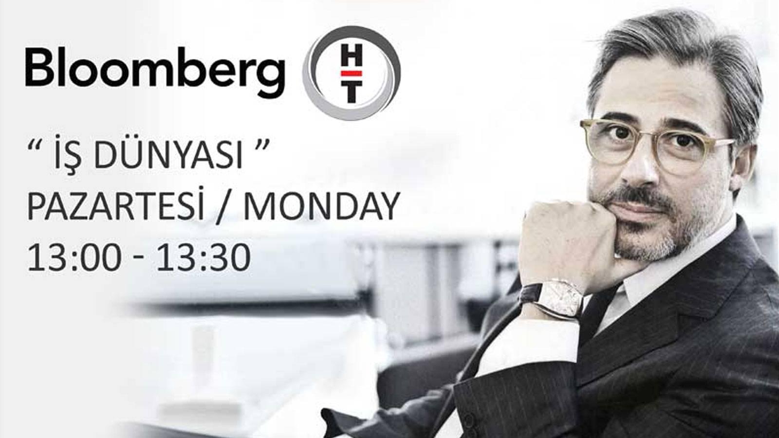 """26.12.2016 Murat Kader appeared live on Bloomberg HT """"İş Dünyası"""""""