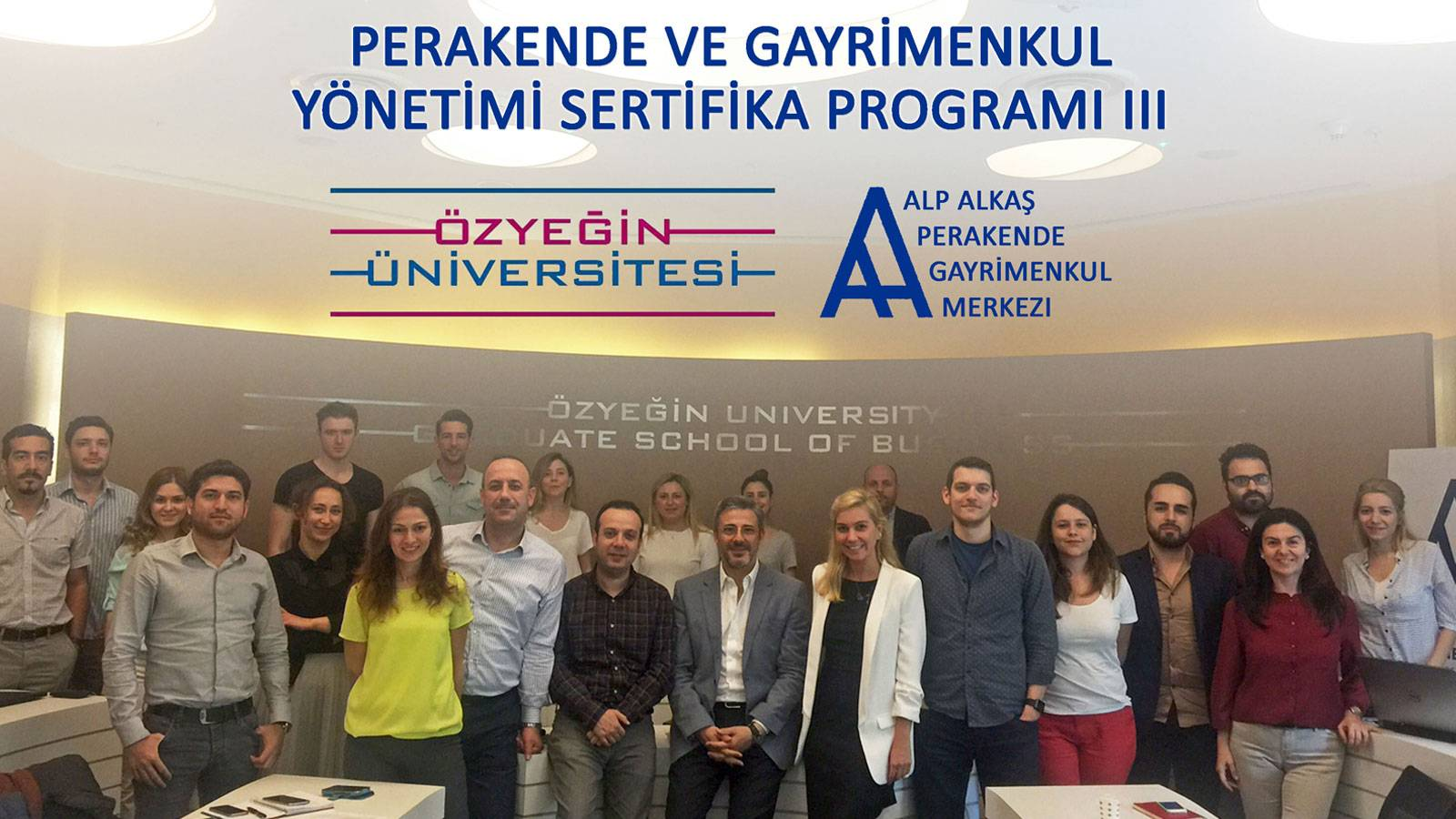 24.05.2016 Murat Kader lectured to OzU AA RREC Certificate Programme Students