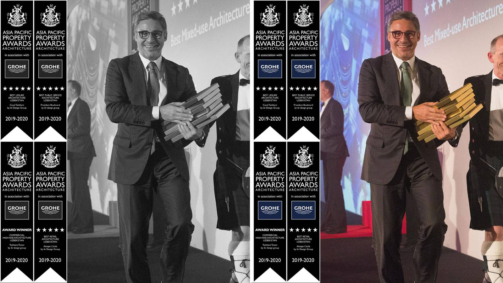 15.05.2019 - iki design group had been awarded by Asia Pacific Property Awards for their 4 projects