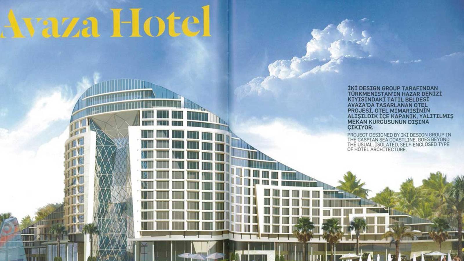 05.07.2013 Tasarım presents the Avaza Hotel Project