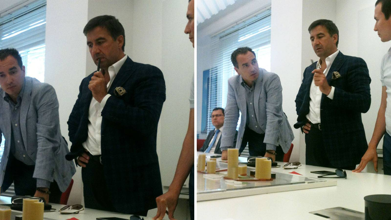 24.06.2013 Chelny Mix Master Plan has been presented to Governor of Chelny and investors.