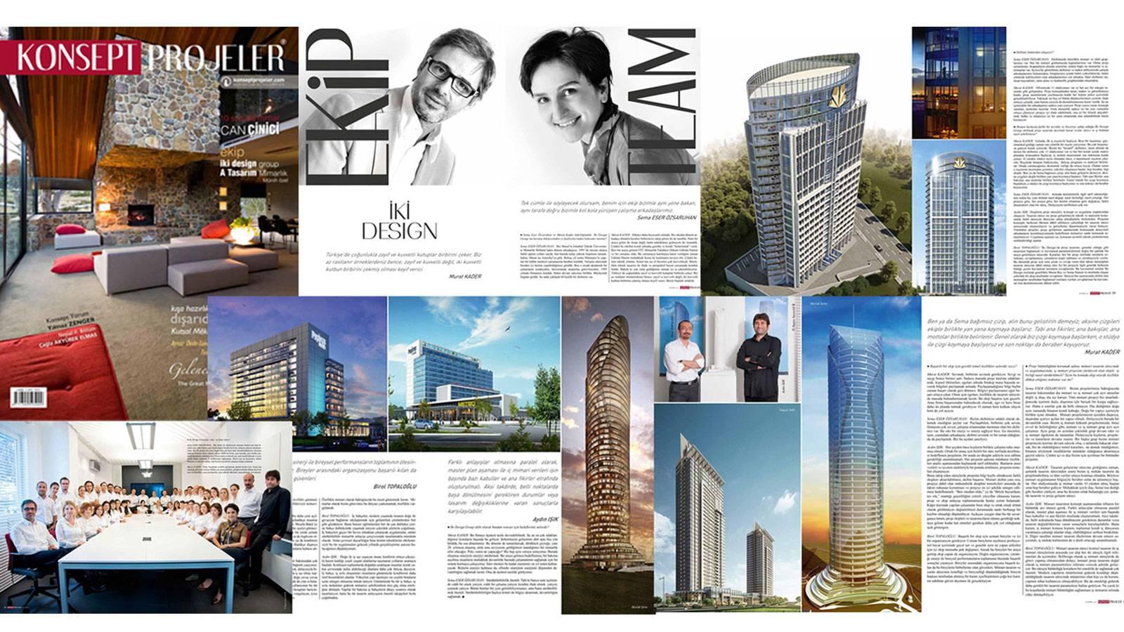 01.11.2012 - iki design group Konsept Projeler