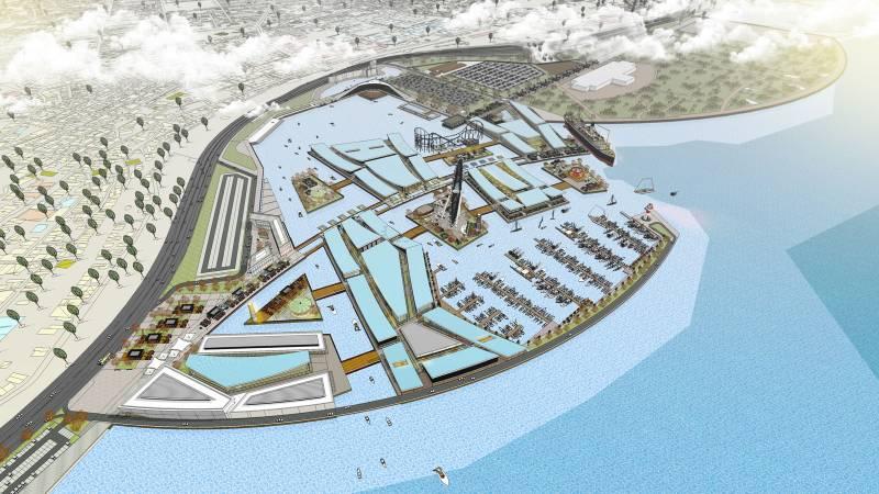 Zeytinburnu Shore and Square Design